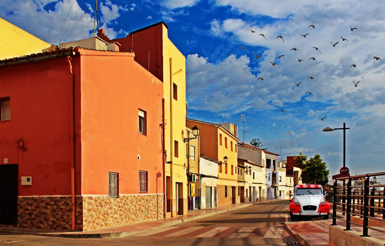 Calle de la Divina Aurora o Carrer del Riu