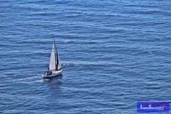 Jávea. Barco desde Cabo de la Nao