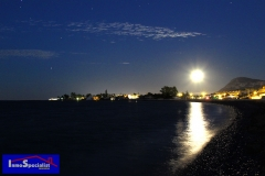 Solsticio de verano con luna llena