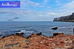 Vista de la Playa Las Rotas de Dénia