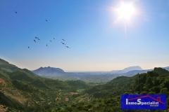 Vista del Segaria y Montgó desde Laguar