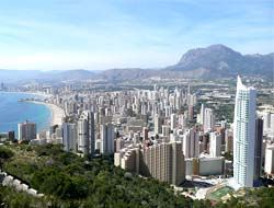 To live in Benidorm