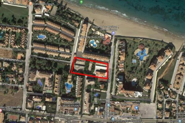 Properties for sale in Las Marinas area (Denia)