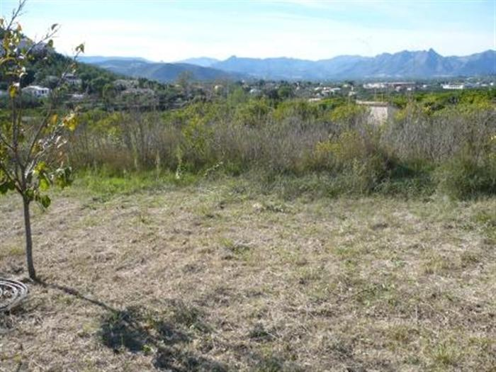 Land / Ground for sale  in Periferia of Pedreguer Costablanca, Alicante (Spain). Ref.: 4-5-1515 (4-5-1515)