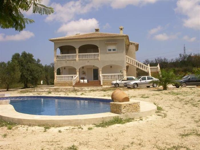 Luxurious Villa for sale  Costablanca, Alicante (Spain). Ref.: 835 (1-1-835)