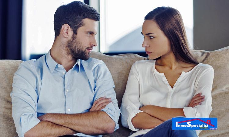 Fases de discusión en pareja para elegir casa